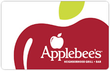 Applebee's Gift Card - $25 $50 or $100 - Fast Email delivery