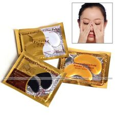 10pcs Collagen Crystal Eye Mask Eyelid Patch Moisture Anti Wrinkle New HB2001
