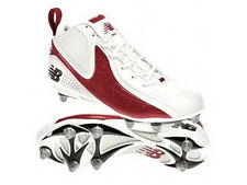 New Balance 993 Mid Mens Football/Lacrosse White/Red Cleats  MF993MR