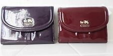 NWT Coach 46729 Madison Patent Leather Medium Wallet