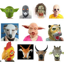 Overhead Environmental Latex Mask Halloween Fancy Party Masks various styles!