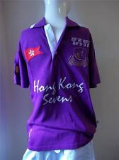 KUKRI HONG KONG SEVENS RUGBY LARGE POLO T-SHIRT SPORTS  NEW WITH TAGS PURPLE £45