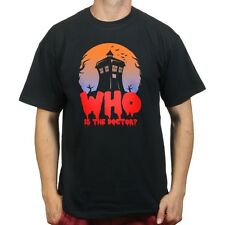 Who is The Doctor Tardisian Scary Phone Box Halloween Scary T-shirt P981