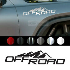 "Universal All Vehicle ""OFF ROAD"" Racing Sports Decal Sticker 6 Color 11.2""x2.5"""