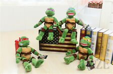 New Teenage Mutant Ninja Turtles Plush Toys Soft Stuffed TMNT Dolls 40cm