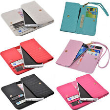 luxury Wallet Card Holder Full multifunction Cover Case For Philips mobile phone