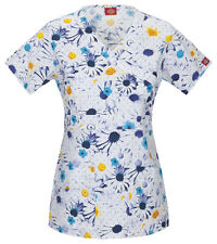 Dickies Scrub  Top 82724-OFFT ( Off The Grid ) Sizes S