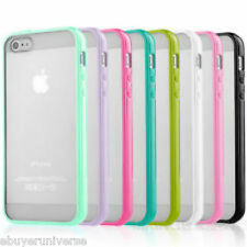CLEAR Hard Back Silicone TPU Bumper Case Cover For New Apple iPhone 6 4.7