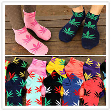 Marijuana Weed Leaf Low Cut Ankle Cotton Socks Multiple Colors Men Women 5  0023
