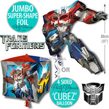TRANSFORMERS BOYS BIRTHDAY PARTY SUPPLIES BALLOON BALLOONS DECORATIONS