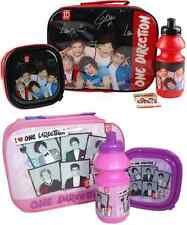 ONE DIRECTION KIDS 1D LUNCH KIT 3 PC SET LUNCH BAG WITH SANDWICH BOX AND SPORTS