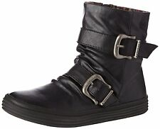 Blowfish Octave Black PU New Womens Winter Cheap Ankle Boots Shoes