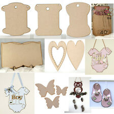 SOLID WOOD PLAQUES FOR DECORATING - VARIOUS DESIGNS!  SHABBY CHIC CRAFT, HOME
