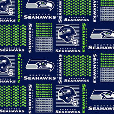 NFL Cotton Fabric Remnant Pieces from the End of Bolts! Prices vary per piece!