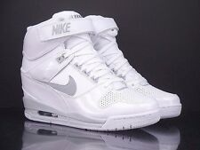 NIKE Wmns Air Revolution Sky Hi white wolf grey New Women 599410 102