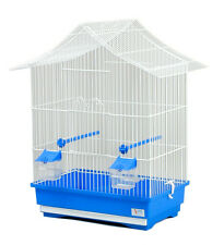 Rachel Bird Cage ideal for Canaries, Budgies, Finches -ONLY WHITE BASE AVAILABLE