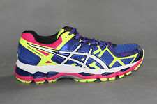 ASICS® GEL-KAYANO 21 - Women's Blue / White / Flesh Yellow