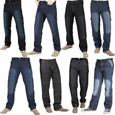Spaceiz Mens Motorbike Motorcycle Trousers Jeans Protective Lining Collection