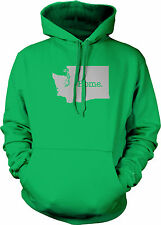 Home Washington State Pride Seattle Puget Sound Space Needle Mens Sweatshirt