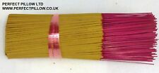 "500 INCENSE STICKS 10"" BRITISH MADE ,SELECT FROM  30 FRAGRANCES,WHY BUY IMPORTS"