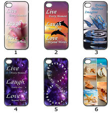 Designer Phone Hard Case Cover Live Love Laugh Dream Hakuna Matata Collection 9