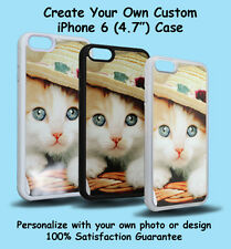 Custom iPhone 6 (4.7 inch) Personalized PHOTO Plastic/Rubber Case Cover Picture