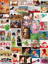 Newborn Baby Girls Infant Knitted Crochet Costume Photo Photography Prop outfits