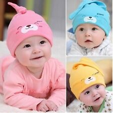 Cute Unisex Soft Crochet Newborn Baby Boy Girl Hat Infant Cotton Beanie Warm Cap