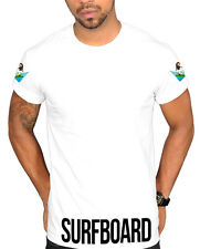Surfboard Emoji NEW Unisex Graphic T-shirt Clothing Tee Tour Jay Bey Hov Carter