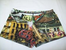 Graffiti Booty Shorts/Spankies/Cheer, All Sizes, Stretch Spandex, Really Cool!