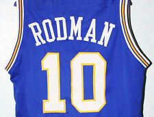 DENNIS RODMAN #10 OKLAHOMA SAVAGES JERSEY BLUE NEW SEWN ANY SIZE