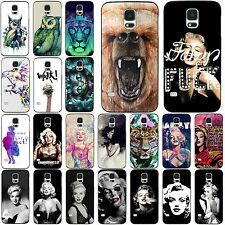 Hot Various Wild Animals Beauty Pattern Case Cover For Samsung Galaxy S3 S4 S5