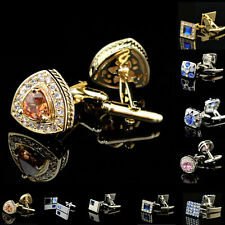 Superior Quality Business Shirt Austria Crystal Cufflinks For Men Wedding Gift