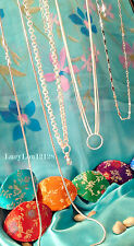 Authentic Origami Owl Silver Chains For Lockets, Lanyards, Tags, Dangles! U Pick