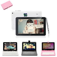 "8GB iRulu 9"" Google Android 4.4 Dual Core & Dual Cam WiFi Tablet PC w/ Keyboard"