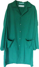Lab Coats - Green Regent Protective w/ Gripper Closure (100% Polyester)