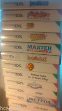 DS Games Training Challenge Puzzle Health Match 3 Quiz Manic Lots Of Games