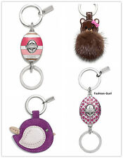 NEW AUTHENTIC COACH KEY RINGS/ KEYCHAINS/ KEY FOBS/ KEY CHARMS ON SALE