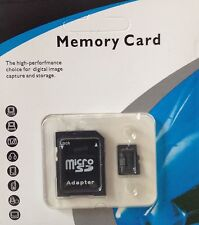 64GB MICRO SD TF SDHC MEMORY CARD CLASS 10 GENERIC BLACK WITH FREE ADAPTER