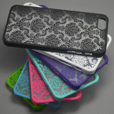 For iPhone6 6 Plus 5 5S 4 4S 5C Rubberized Damask Pattern Matte Hard Case Cover
