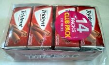 14/18 Box Trident Cinnamon Chewing Gum Sugar Free,Xylitol,Clean,Protect Teeth