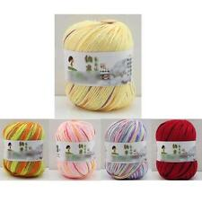 Hybrid Fibroin Wool Natural Worsted Soft Silk Mix Colors Wool Baby Fiber Yarn