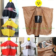 Pro Hair Cutting Cape Hairdresser Barber Shampoo Gown Stylist Clothes Play Phone
