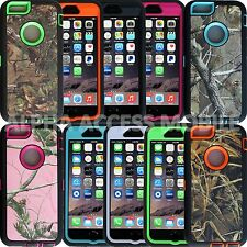 "Heavy Duty Hybrid Series Camo Case Cover For Apple iPhone 6 4.7"" and 6 Plus 5.5"""