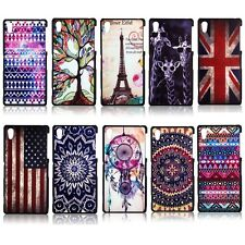 Coloured Drawing Pattern Hard Case Cover Skin For Sony Xperia Z3 / Compact Z2 Z1