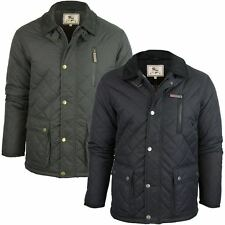 Mens Brave Soul 'Domino' Quilted Padded Jacket/ Coat