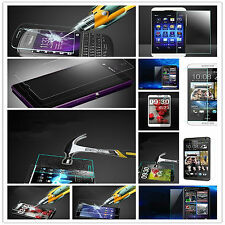 9H Explosion proof Tempered Glass Screen Protector Film For LG Sony Smart Phone
