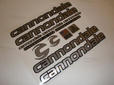 CANNONDALE STYLE ROAD / MTB BIKE FRAME STICKERS DECALS