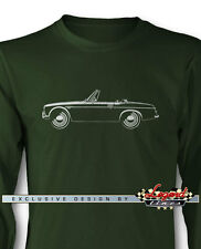 Datsun 2000 1600 Fairlady Roadster Long Sleeves T-Shirt  Multiple Colors & Sizes