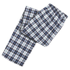 Dog Mom Plaid Cotton Pajama Pants
